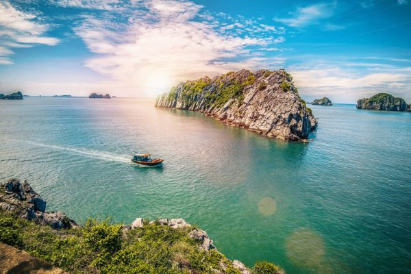 Cat Ba Island in Vietnam