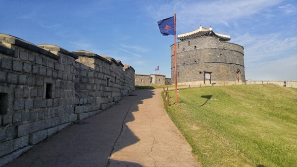Guided walking tour at Suwon Hwaseong Ancient Fortress