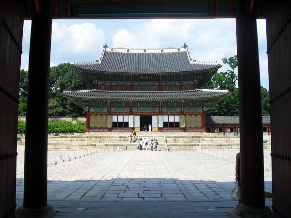 Injeongjeon Hall by Historiographer - Own work. Licensed under CC BY-SA 3.0 via Commons
