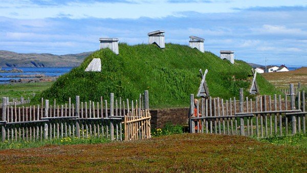 L'Anse Aux Meadows - Canadian Heritage Sites by D. Gordon E. Robertson - Own work. Licensed under CC BY-SA 3.0 via Commons