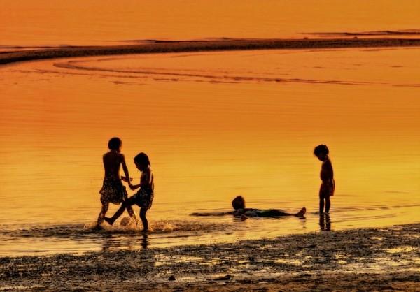 Sunset in Koh Samui Thailand