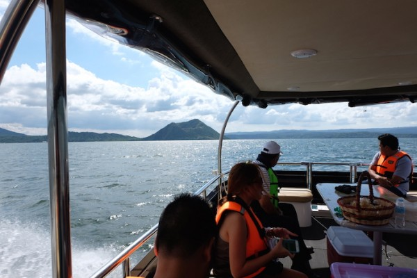 Cruising Taal Lake