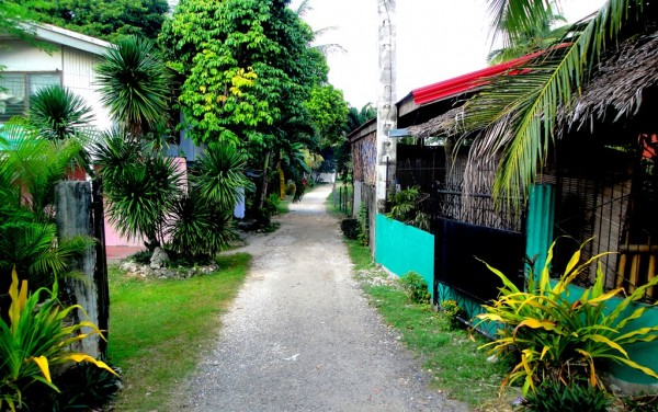 Entrance to the Gorion Beach Resort