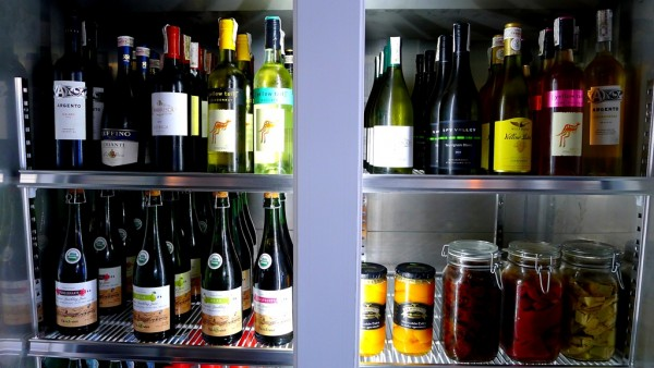 Imported wines and ingredients