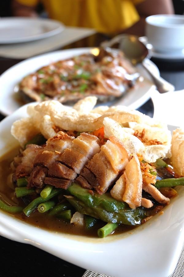 Pinakbet with Bagnet Ilokano Food