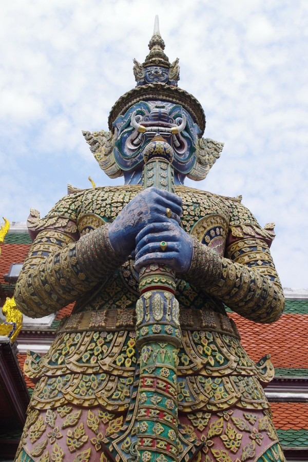 Statue in Grand Palace Thailand