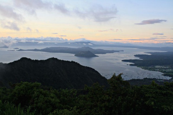 View of Taal Volcano Island from Tagaytay Honeymoon Destinations
