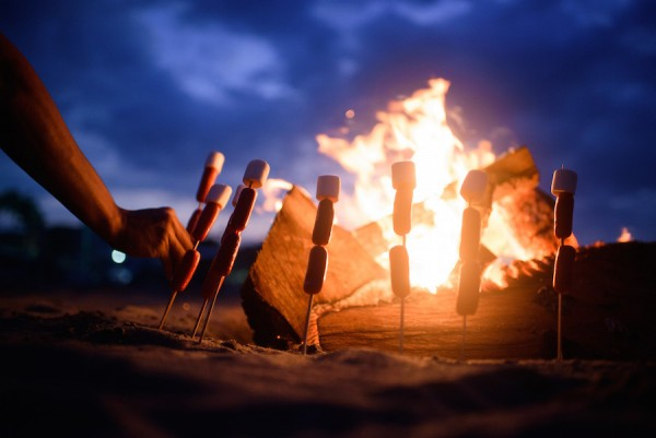 Bonfire at Kahuna Resort