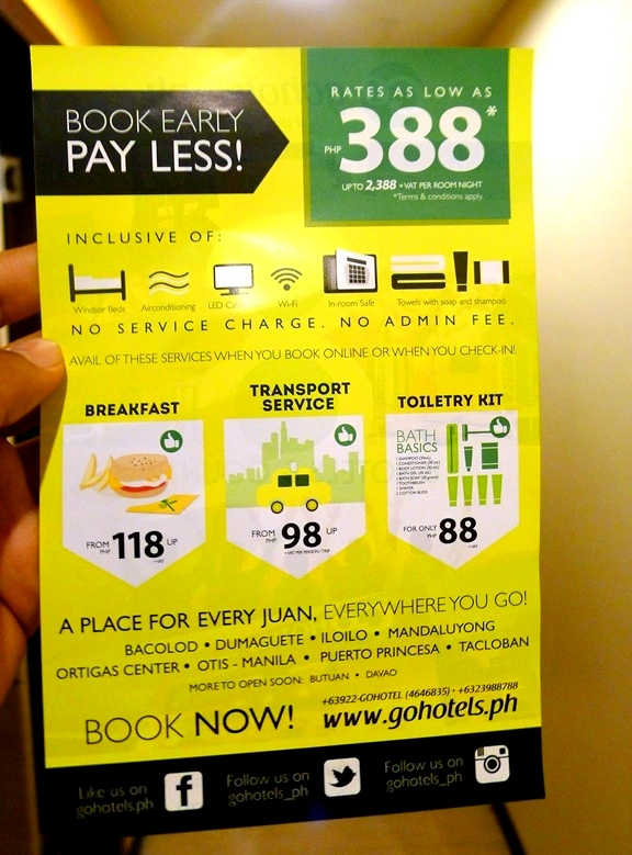 Book early and pay less