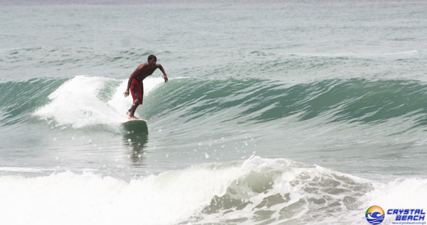Surfing Lessons at Crystal Beach Resort