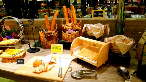 Bread and Cheese Station