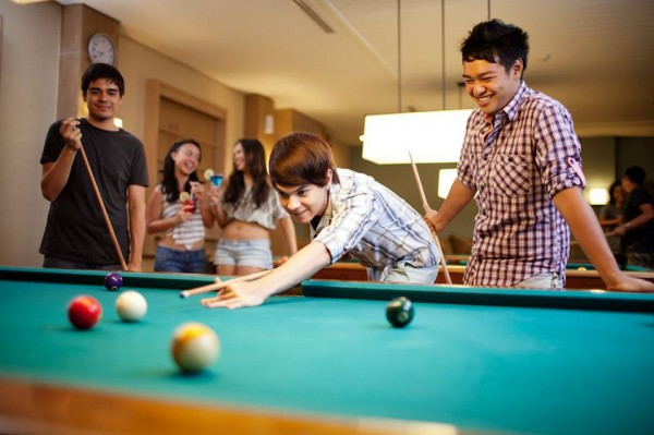 Fit and fun with Billiards
