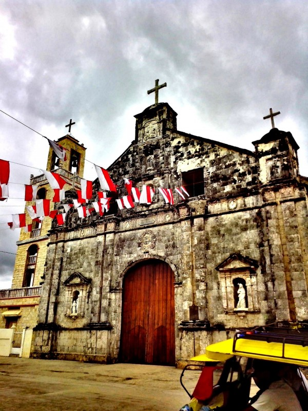 Saint Peter and Pauls Church in Bantayan Island Cebu