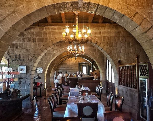 Italian Restaurant at Las Casas Filipinas de Acuzar