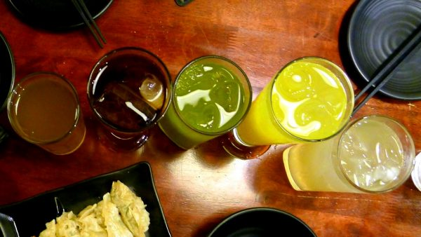 Japanese cocktails available at PHP130