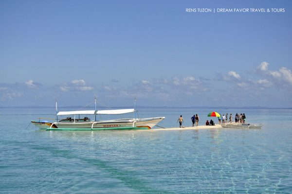 Palad Sandbar in Marinduque