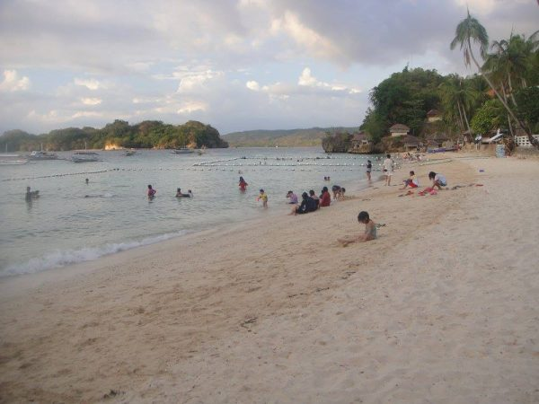 Ave Maria Islet sits a few meters away from Alubijod Beach