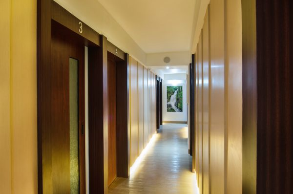 Foot Zone Spa Hallway