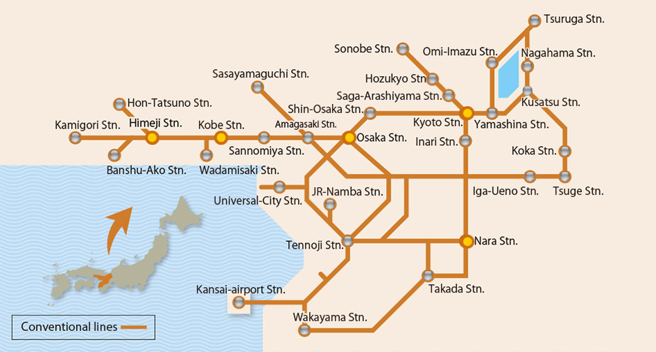 Kansai Area Pass Rail Coverage Out of Town Blog