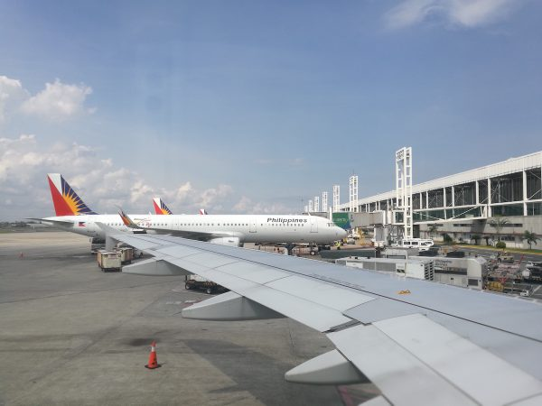 Boarding for our Japan Flight via Philippine Airlines