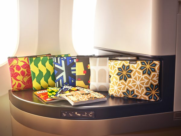 Etihad Airways' Business Class Amenity Kits