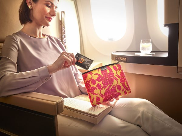 Etihad Business Class Female Amenity Kit