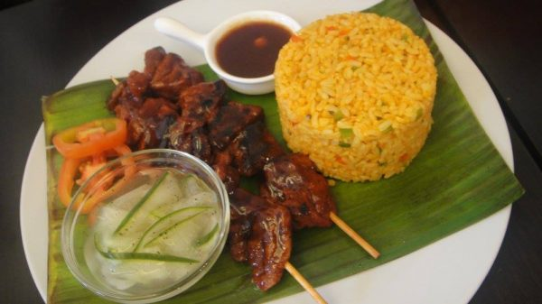 Pinoy Barbecue with Java Rice