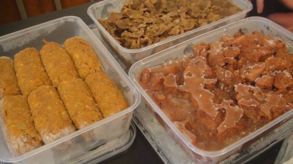 The Good Longganisa, Tapa and Tocino, frozen and ready