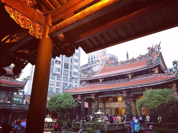 Afternoon in Longshan Temple
