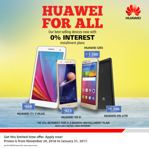 Huawei for all - Huawei and Samsung Deals