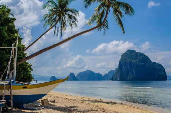 Buena Suerte Beach Amazing Islands and Beaches in El Nido