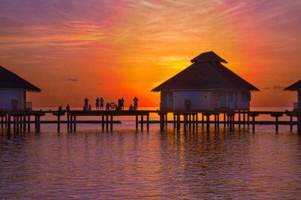 Magnificent Maldives Sunset
