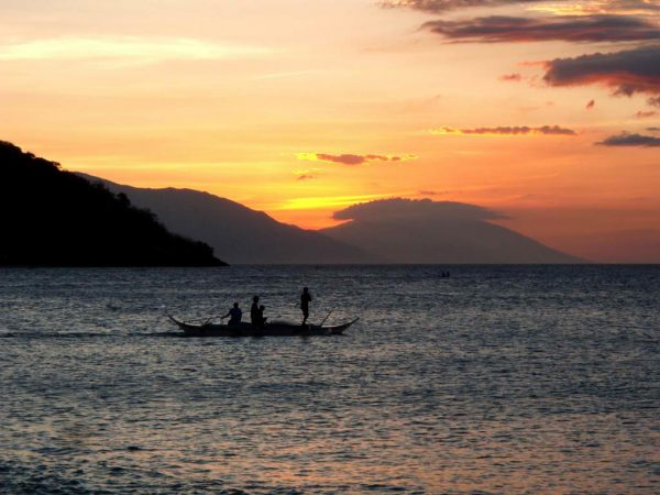 Sunset in Puerto Galera