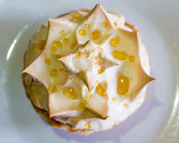 Butterscotch Pie with a meringue on top
