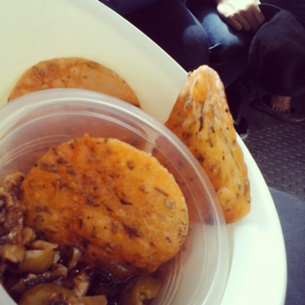 Lentil Crackers with Mushroom Tapenade 4th day