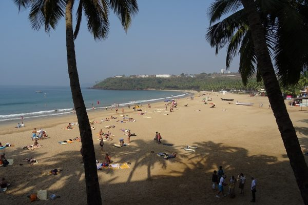 Beach in Goa India