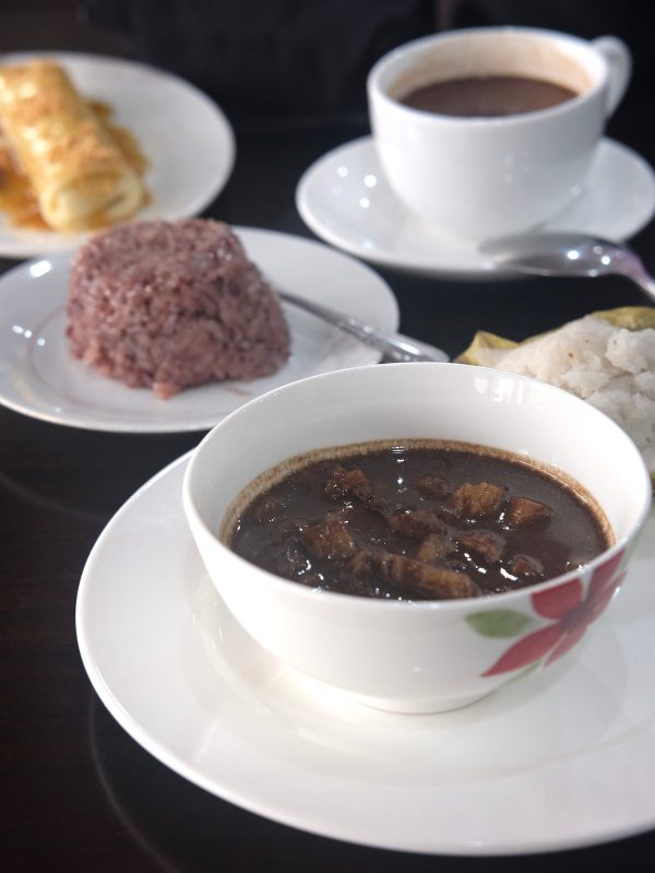 Dinuguan and other local Boholano Snacks