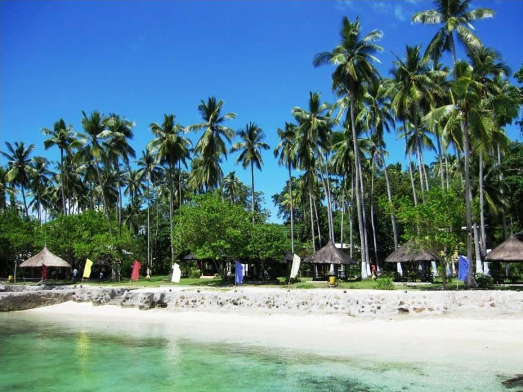 Punta Del Sol Beach Resort in Garden Island City of Samal - Out of ...