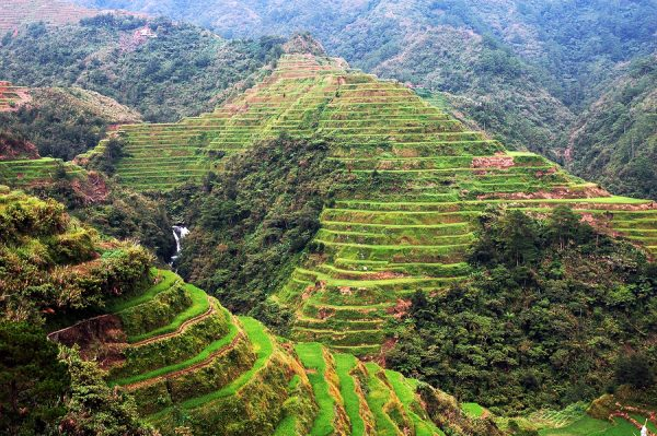 Rice Terraces in Banaue Ifugao - one of the best tourist spots in Luzon