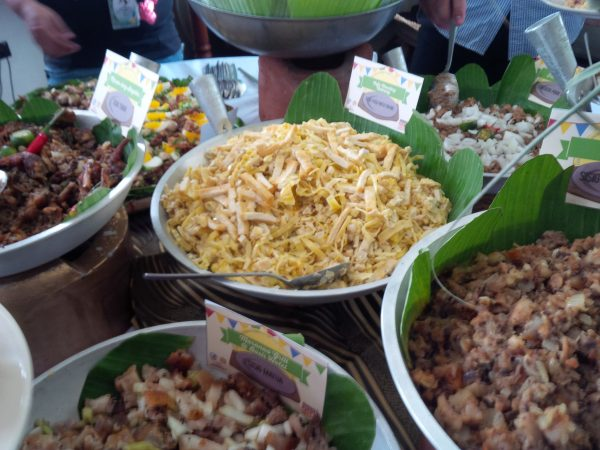 More than 20 variants of sisig, from common favorites to exotic fusions were showcased at the Sisig Fiesta, held last year at Angeles City, Pampanga. Some selections include sisig tugak (frog), balut sisig, crab and shrimp sisig.
