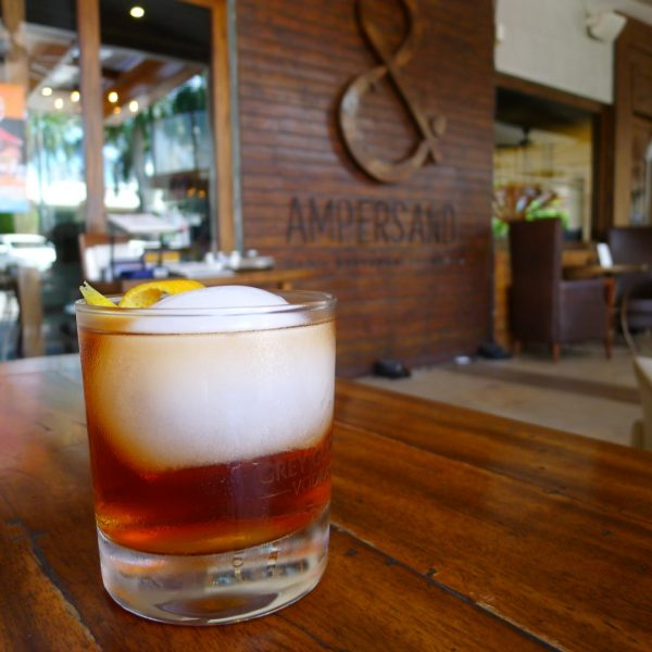 The Duterte (1800 Reposado Tequila, Caramel Syrup, Angustura Bitters)