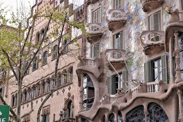 Amazing Design of Casa Batllo