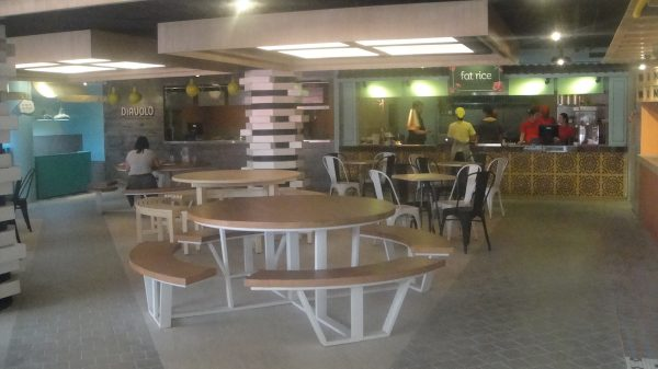 Chic and cozy dining at Streetmarket