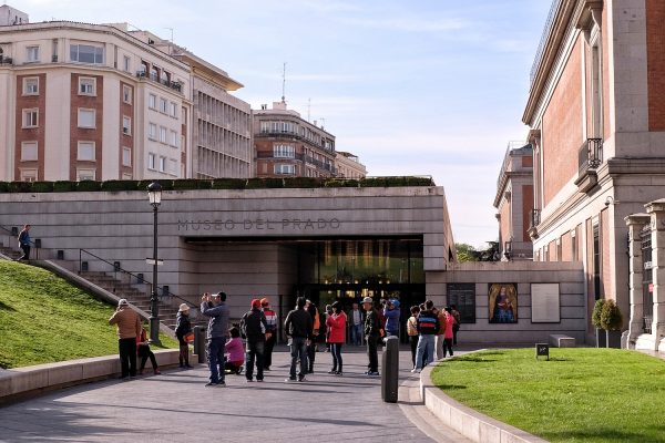 Entrance of Del Prado Museum