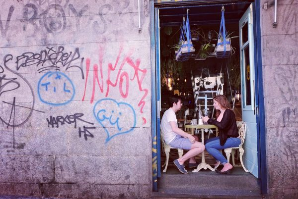 Hipster Cafe in Madrid