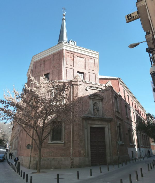 Saint Anthony Church in Madrid (Spain). Built in 1633.