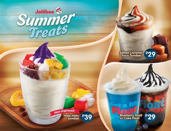Jollibee Summer Treats - Unbeatable Desserts