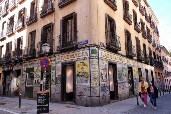 Old Pharmacy at Calle de San Andres