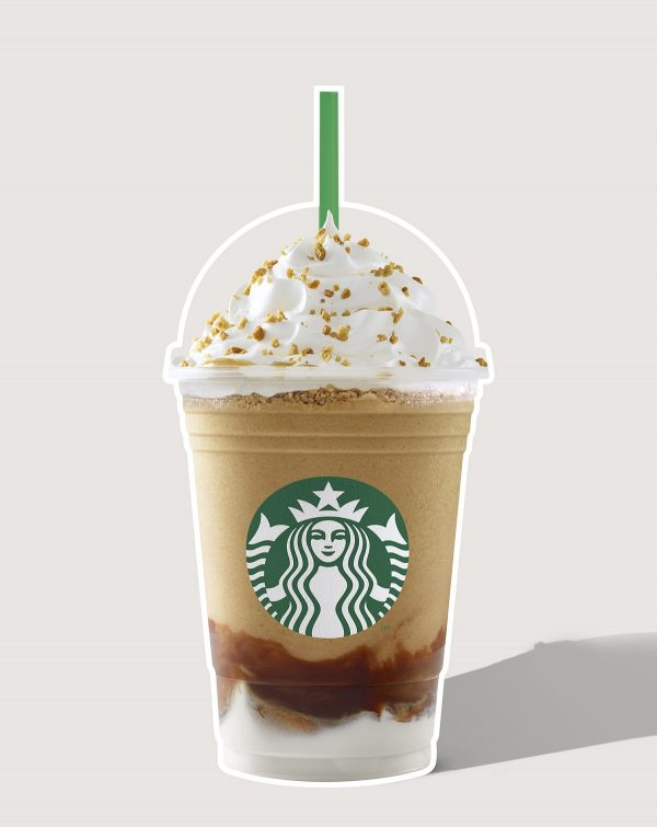 Roasted Marshmallow S'mores Frappuccino