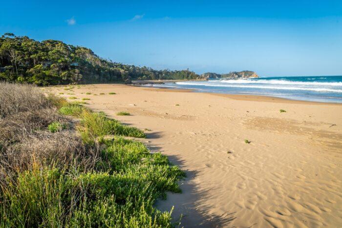 Rosedale beach in Batemans bay in New South Wales, Australia photo via Depositphotos.jpg